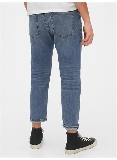 Gap Gapflex Slim Taper Cropped Jean Pantolon Mavi
